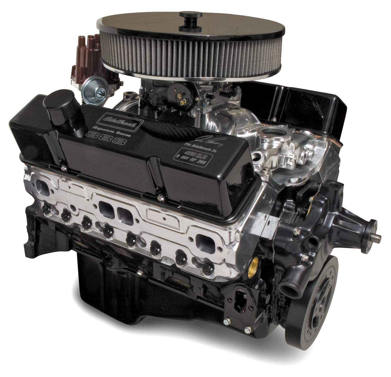 Edelbrock crate engines ford autos post for Crate motors ford f150