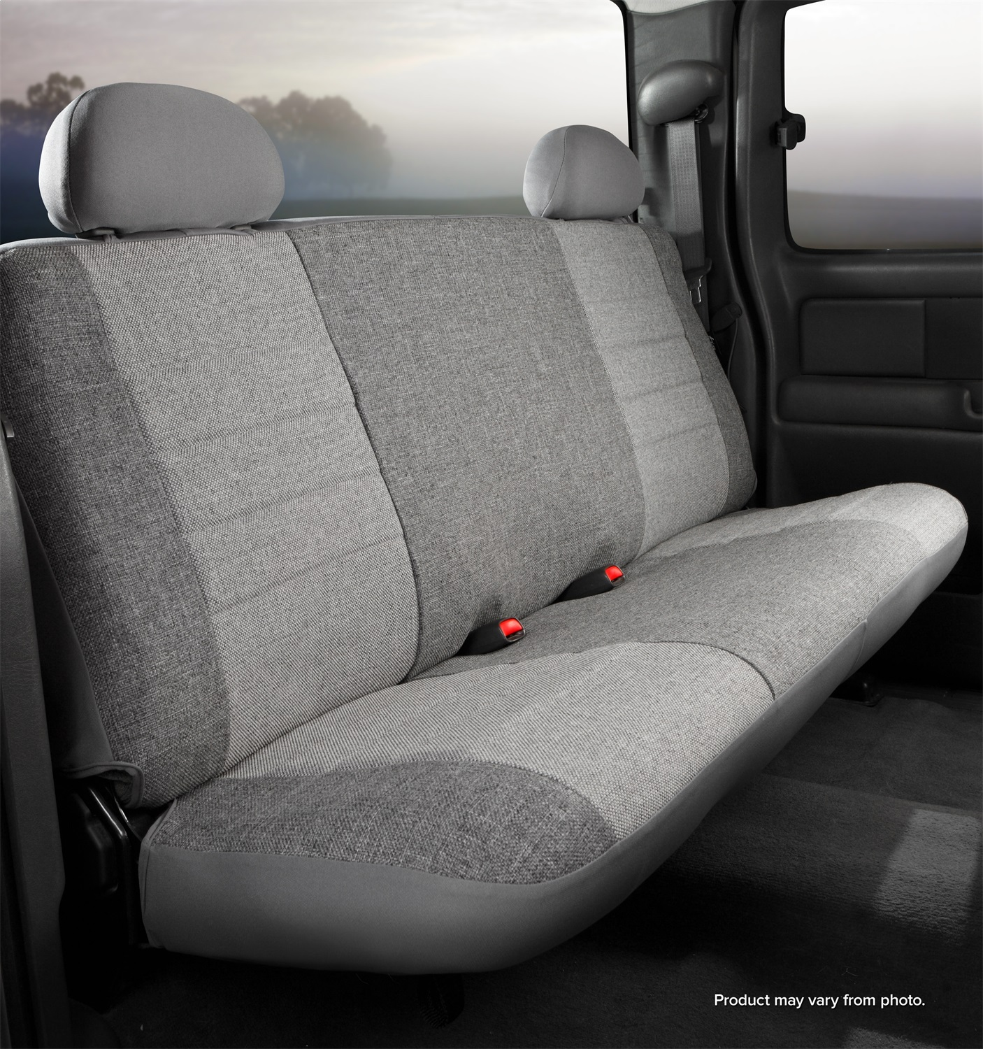 Fia OE37-7GRAY Oe Custom Seat Cover  Tweed  Gray  Front  Bench Seat at Sears.com