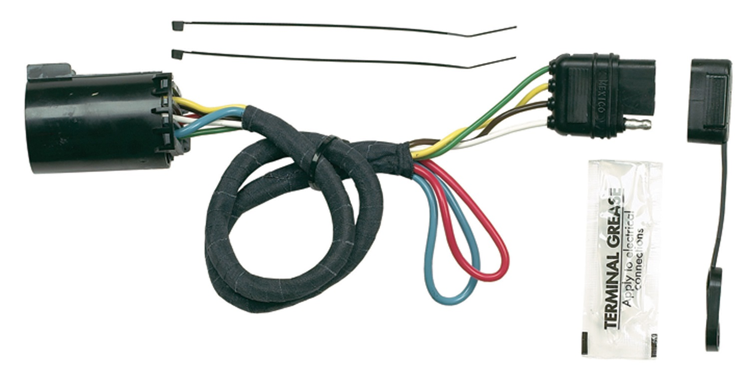 Trailer Wiring Harness Plug Covers : Hopkins towing solution plug in simple vehicle to
