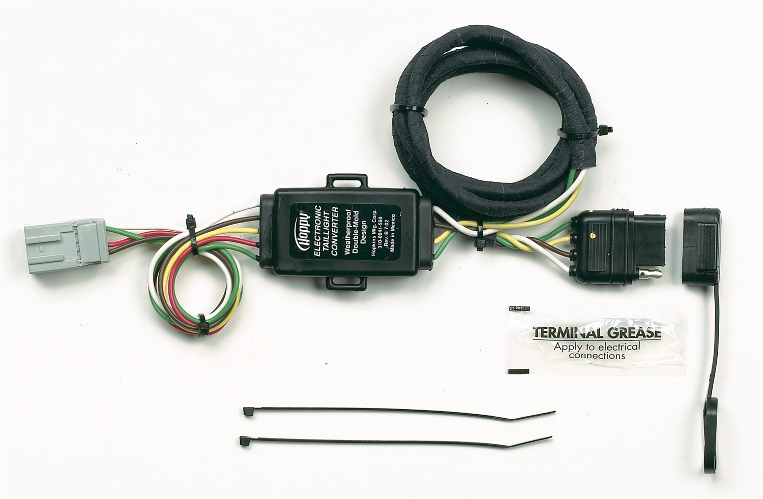 similiar hoppy trailer wiring keywords hoppy 41345 trailer wiring connector kit on hoppy trailer wiring