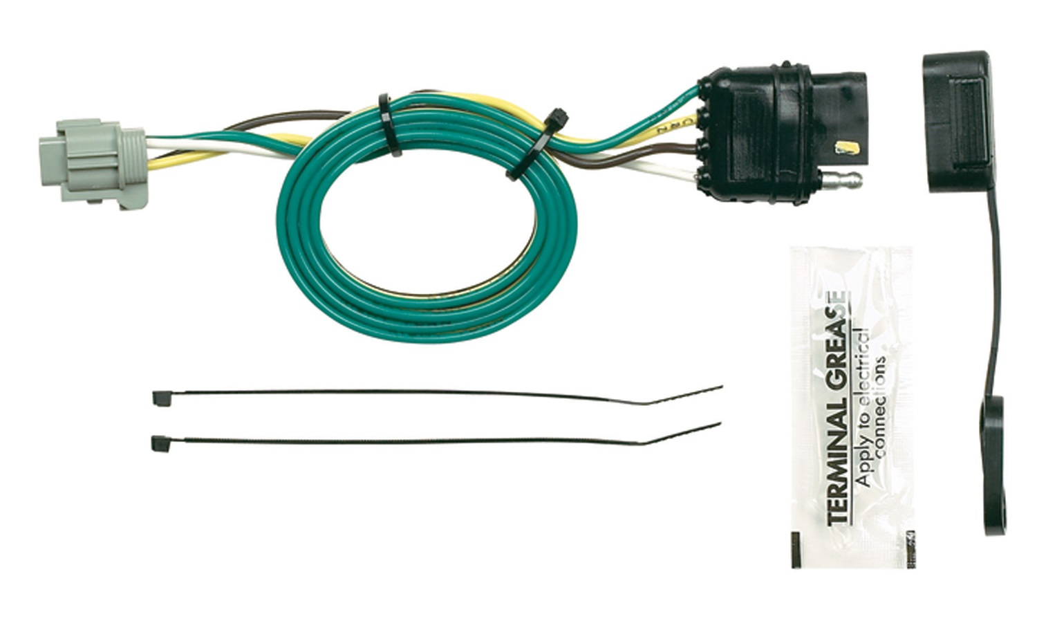 Rv Trailer Camper Parts Wiring Harness Hopkins Towing Solution 43595 Plug In Simple Vehicle To