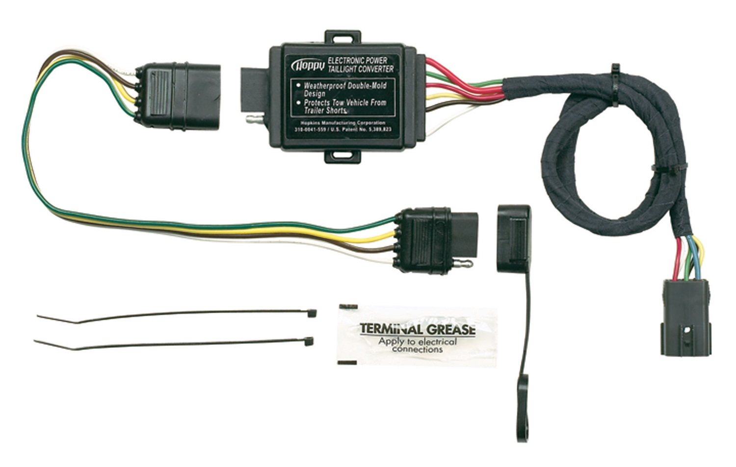 Hoppy Trailer Wiring Electrical Diagram Kits Hopkins Towing Solution 11143875 Wire Harness Adapters