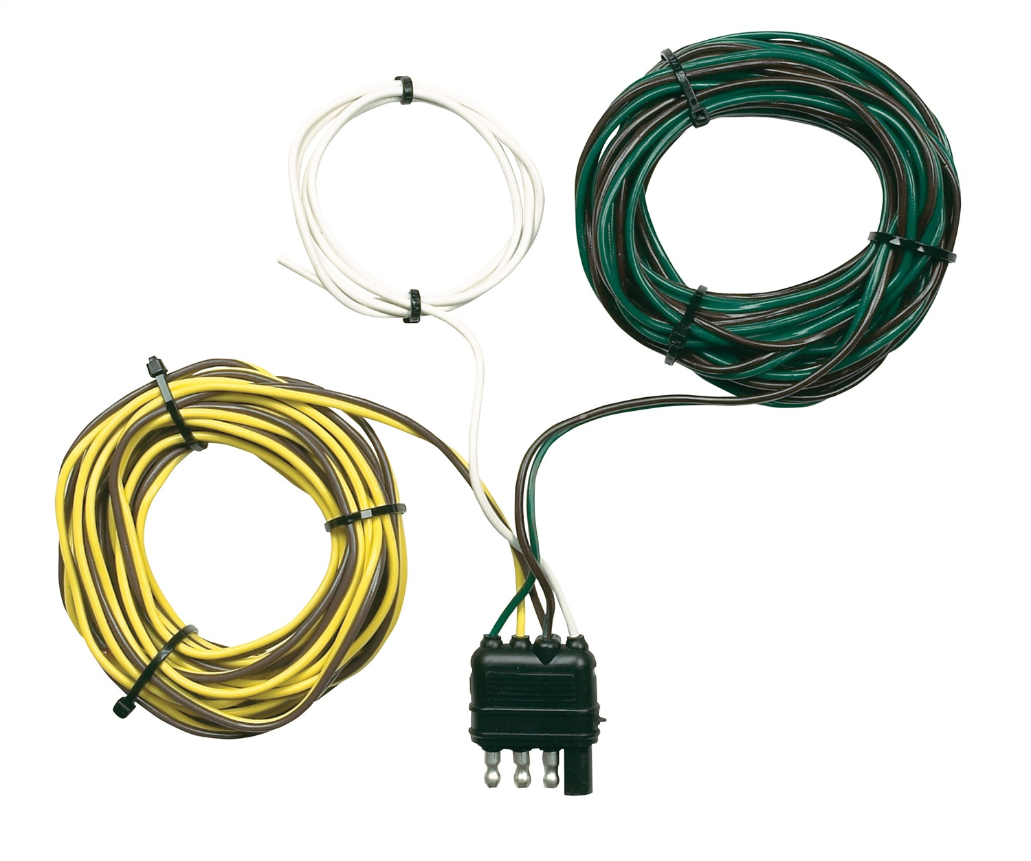 Rv Trailer Camper Parts Wiring Harness Hopkins Towing Solution 48245 4 Wire Flat End Y