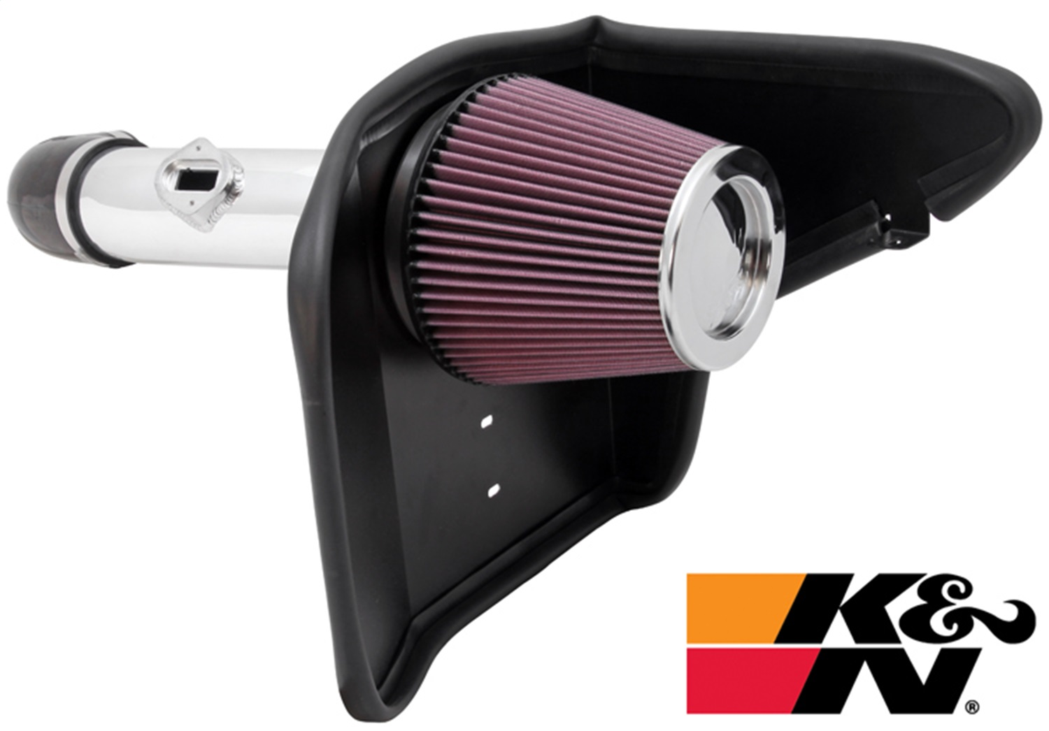 K&N Filters 69-4520tp Typhoon Cold Air Induction Kit Fits 10-11 Camaro 69-4520TP