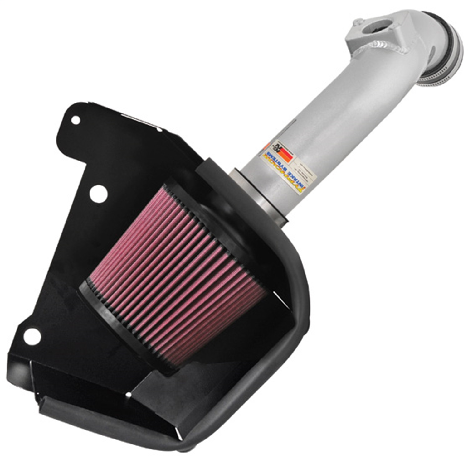 K&N Filters 69-6544TS Typhoon; Cold Air Intake Filter Assembly Fits 08-12 Lancer 69-6544TS