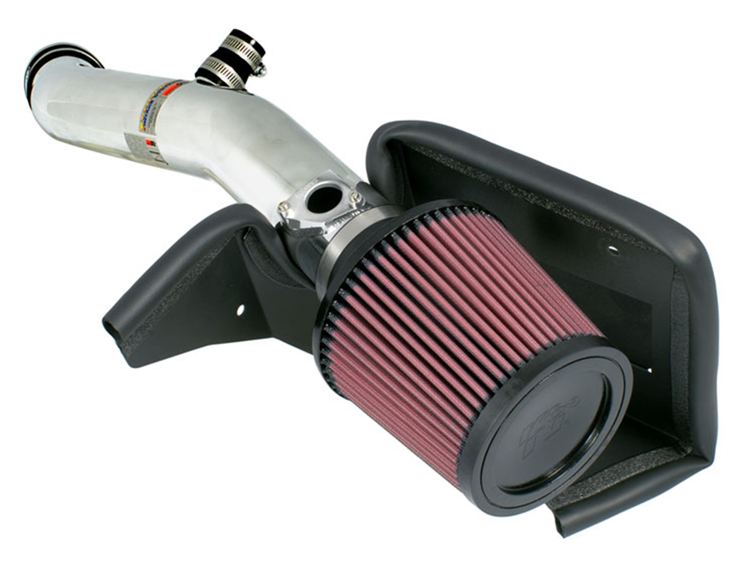 K&N Filters 69-8702TP Typhoon; Complete Cold Air Intake Filter Assembly 69-8702TP