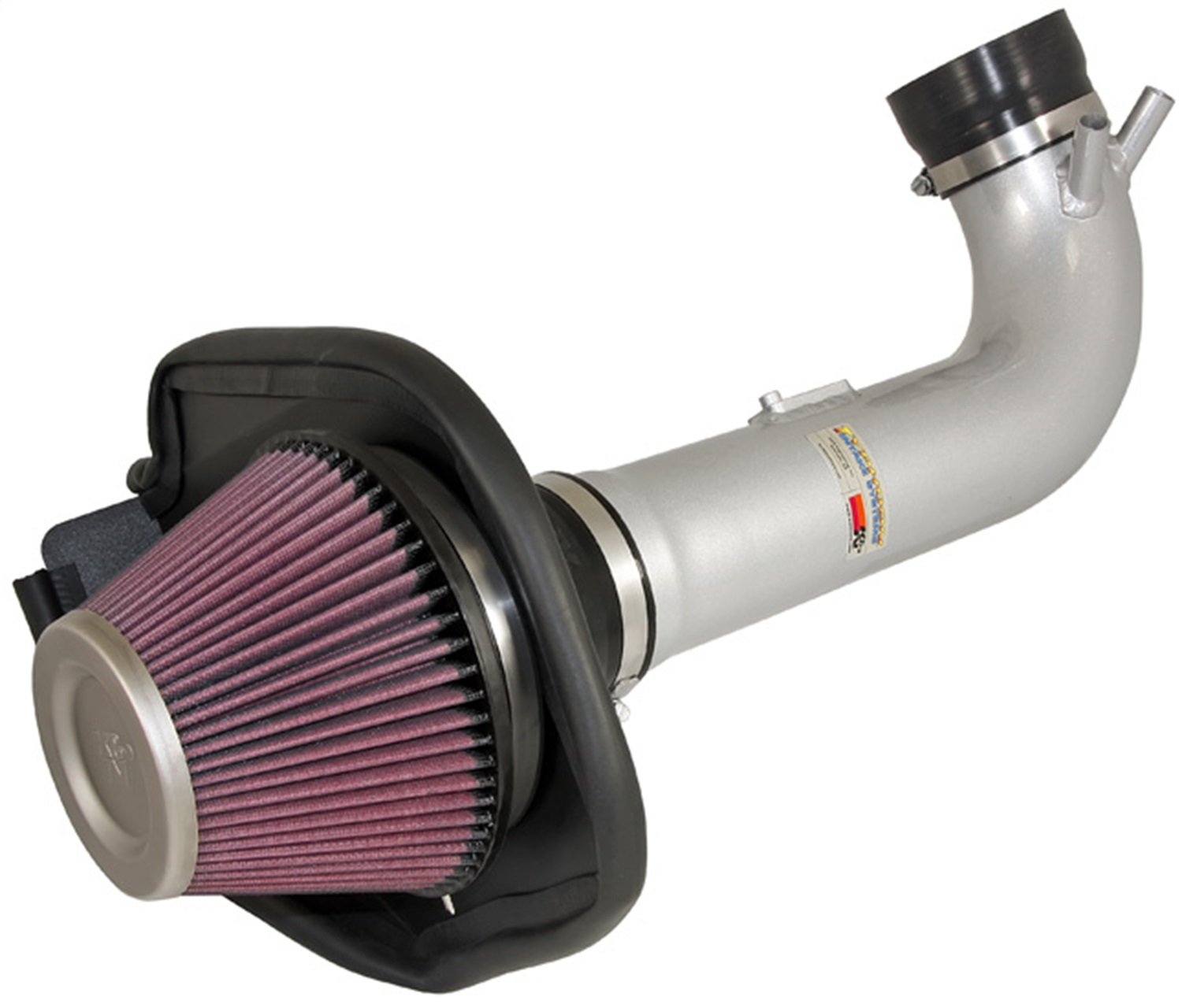 K&N 69 Series Typhoon Air Intake System Silver Lexus Is-F V8-5.0l 08-11 69-8703TS