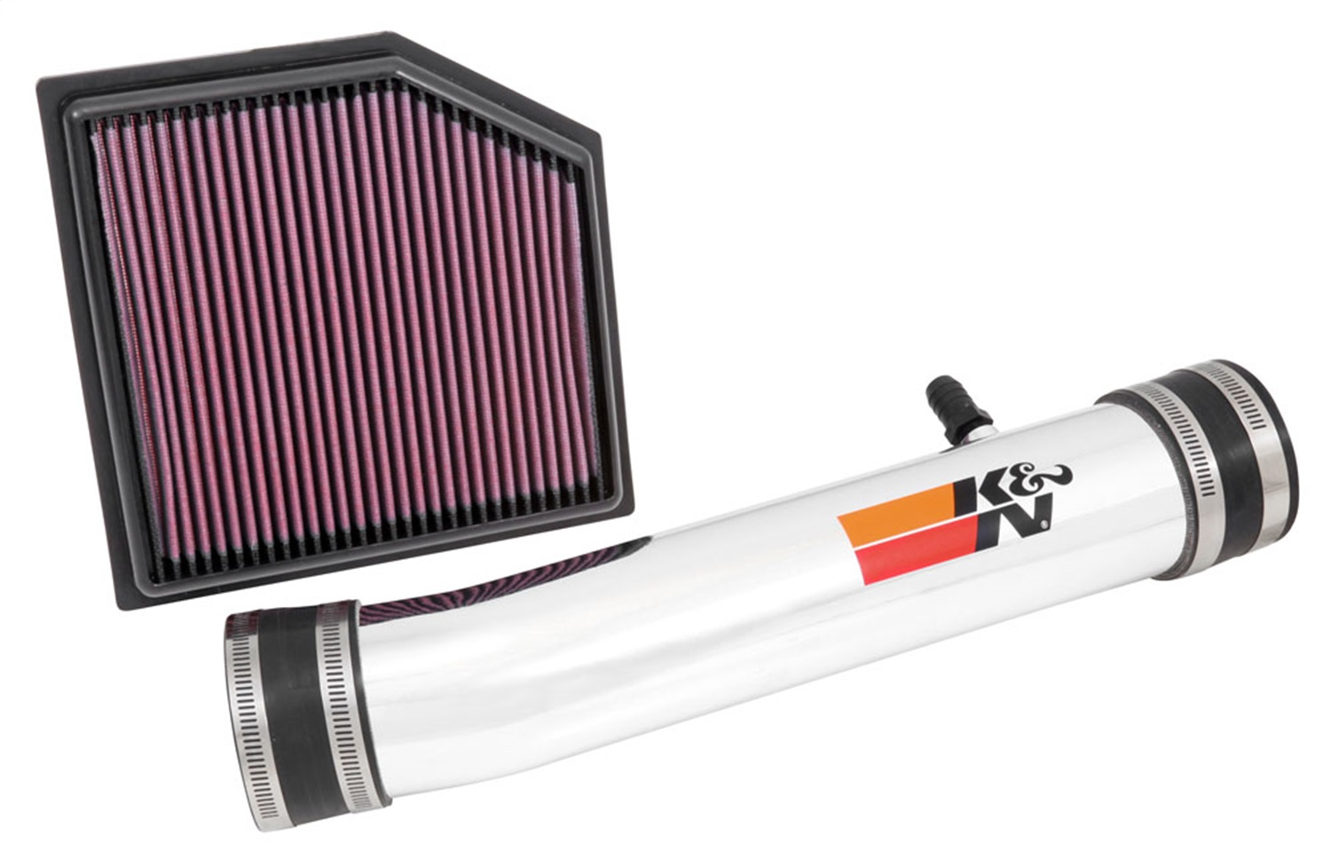 K&N Filters 69-8704TP Typhoon; Cold Air Intake Filter Assembly Fits 13-14 GS350 69-8704TP