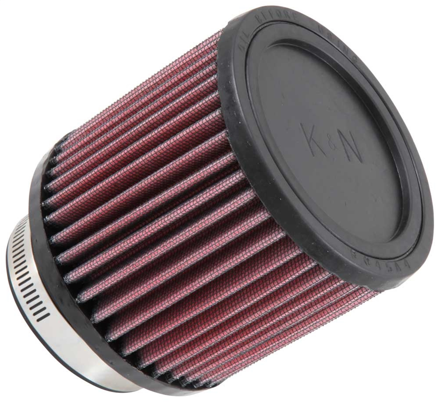 K & N Engineering Universal Round Clamp-On Air Filter RB-0900 3 I.D. 76MM Flange 294328269