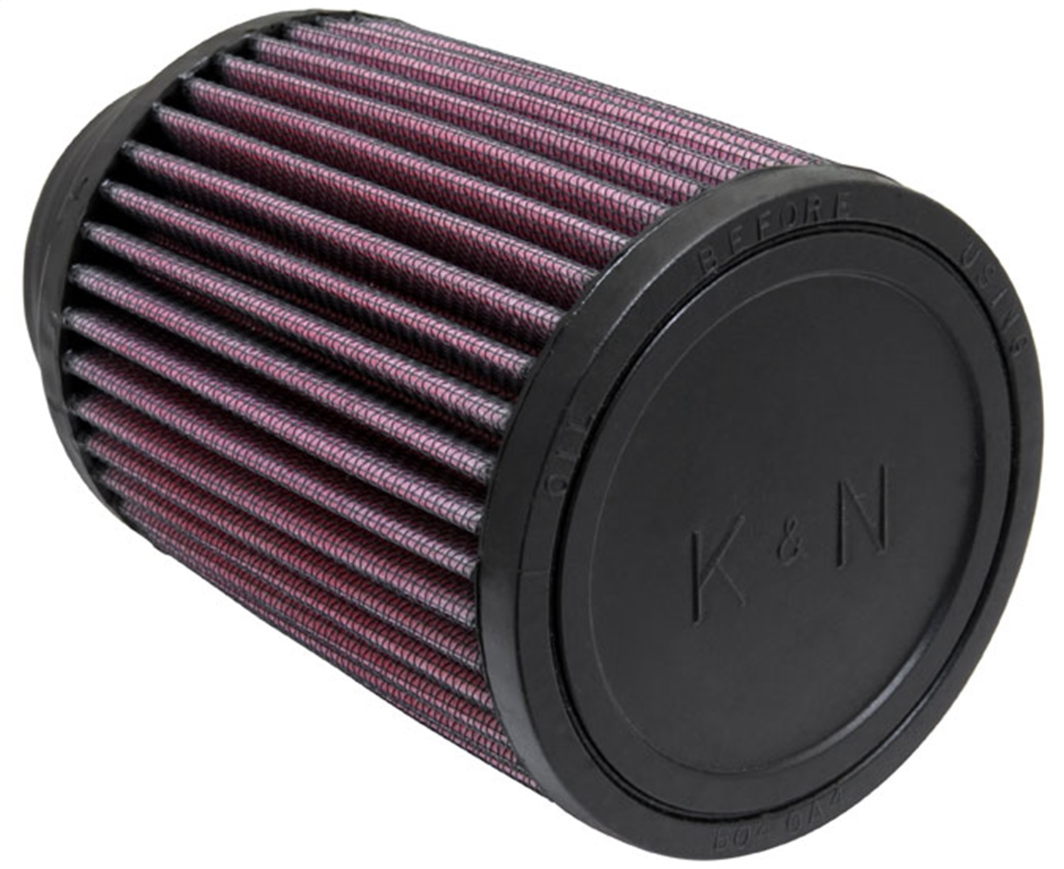 K & N Engineering Universal Round Clamp-On Air Filter RU-1460 2 3/4 I.D. 70MM Flange 294328086