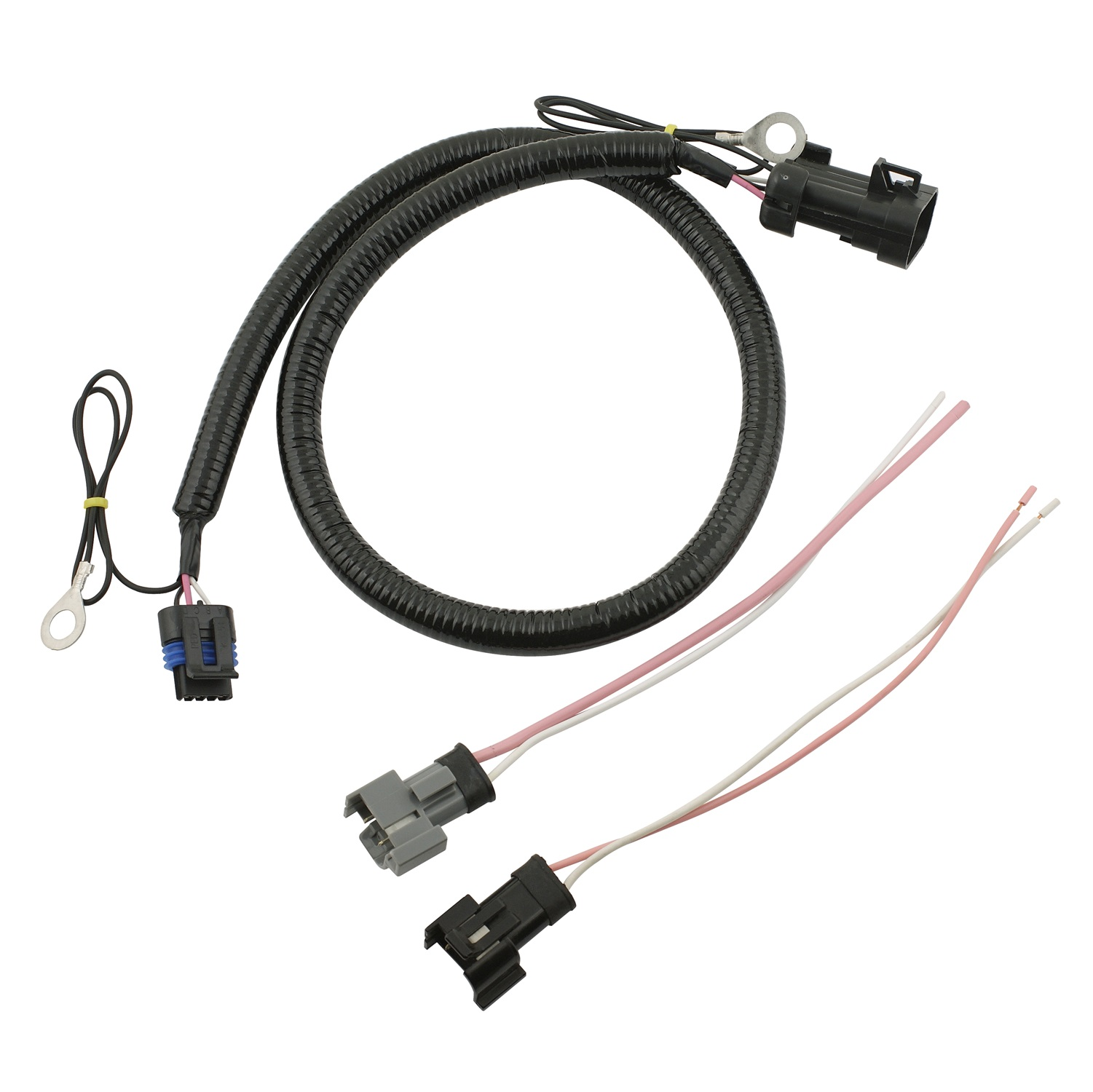 mallory 77652m firestorm lt1 ignition adapter harness fits