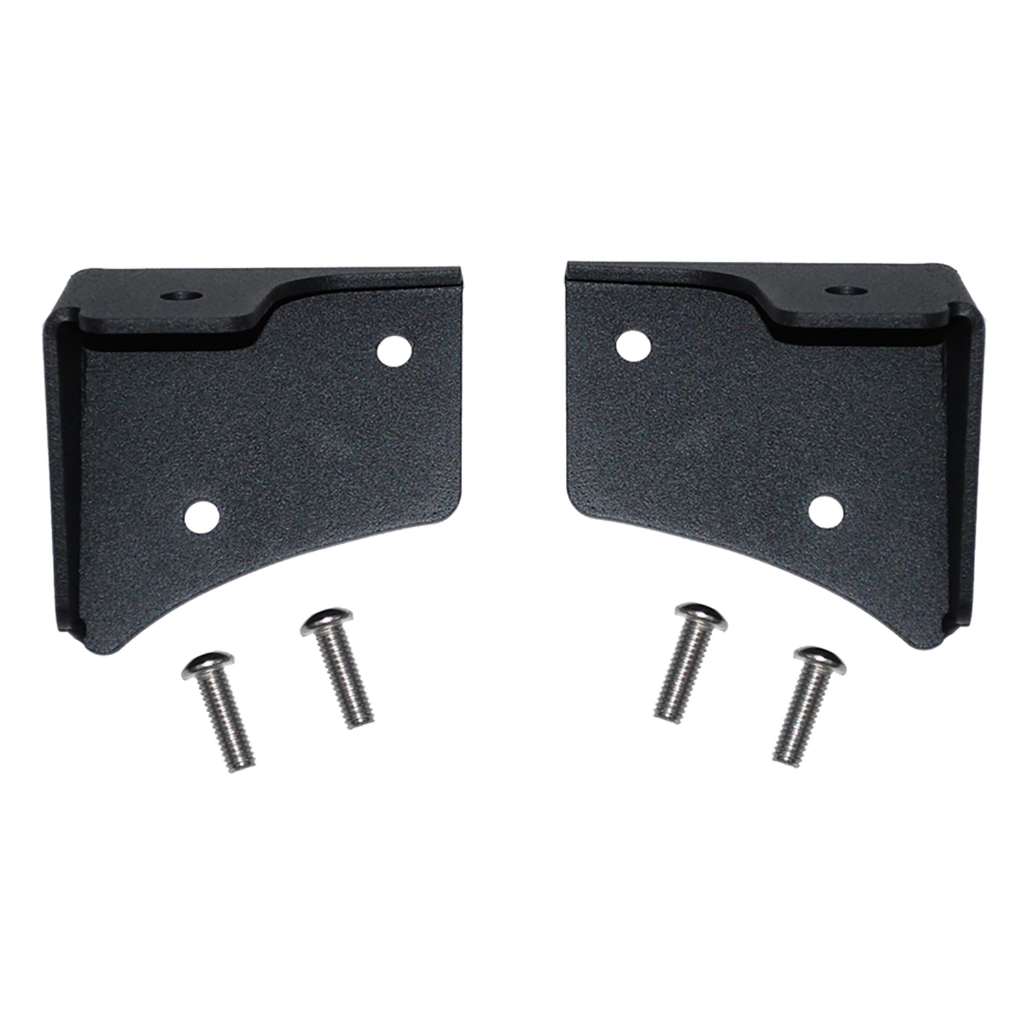 MBRP Exhaust Exhaust 131043 Windshield Light Bracket  2 Brackets  Powder Coated Black at Sears.com