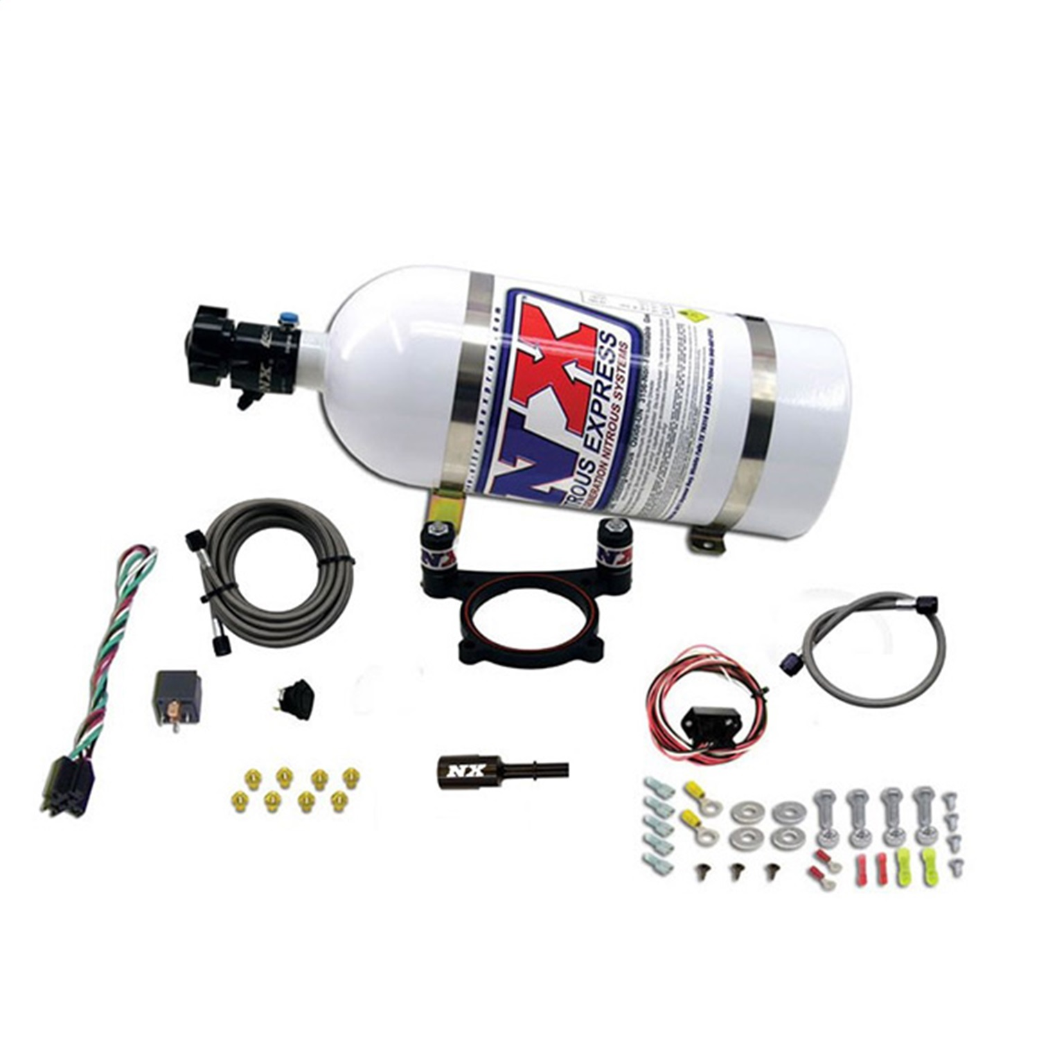 nitrous-express-20948-10-ford-coyote-plate-system-nitrous-system-fits-mustang