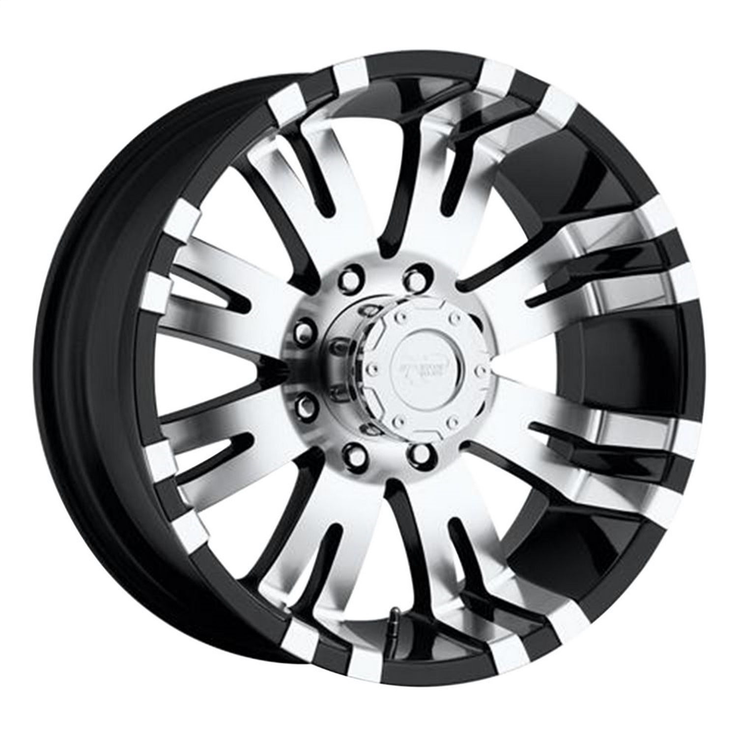 Pro Comp Wheels Comp Alloy 8101-7983 Xtreme Alloys Series 8101 Gloss Black w/Machined Finish  Size 17x9  Bolt Pattern 6x5.5 in.  Back Space 4.7 at Sears.com