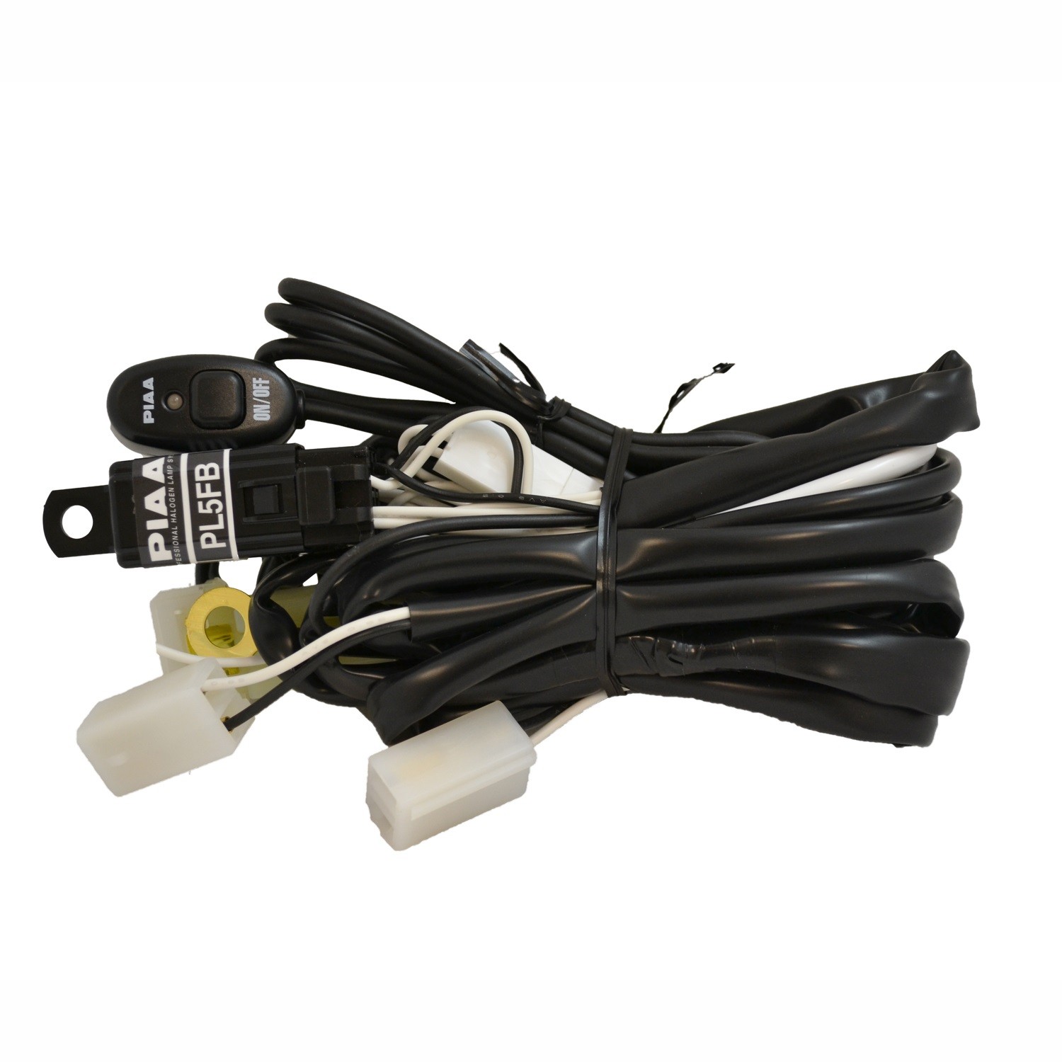 piaa 34085 wiring harness driving light wire incl white square connectors for ebay