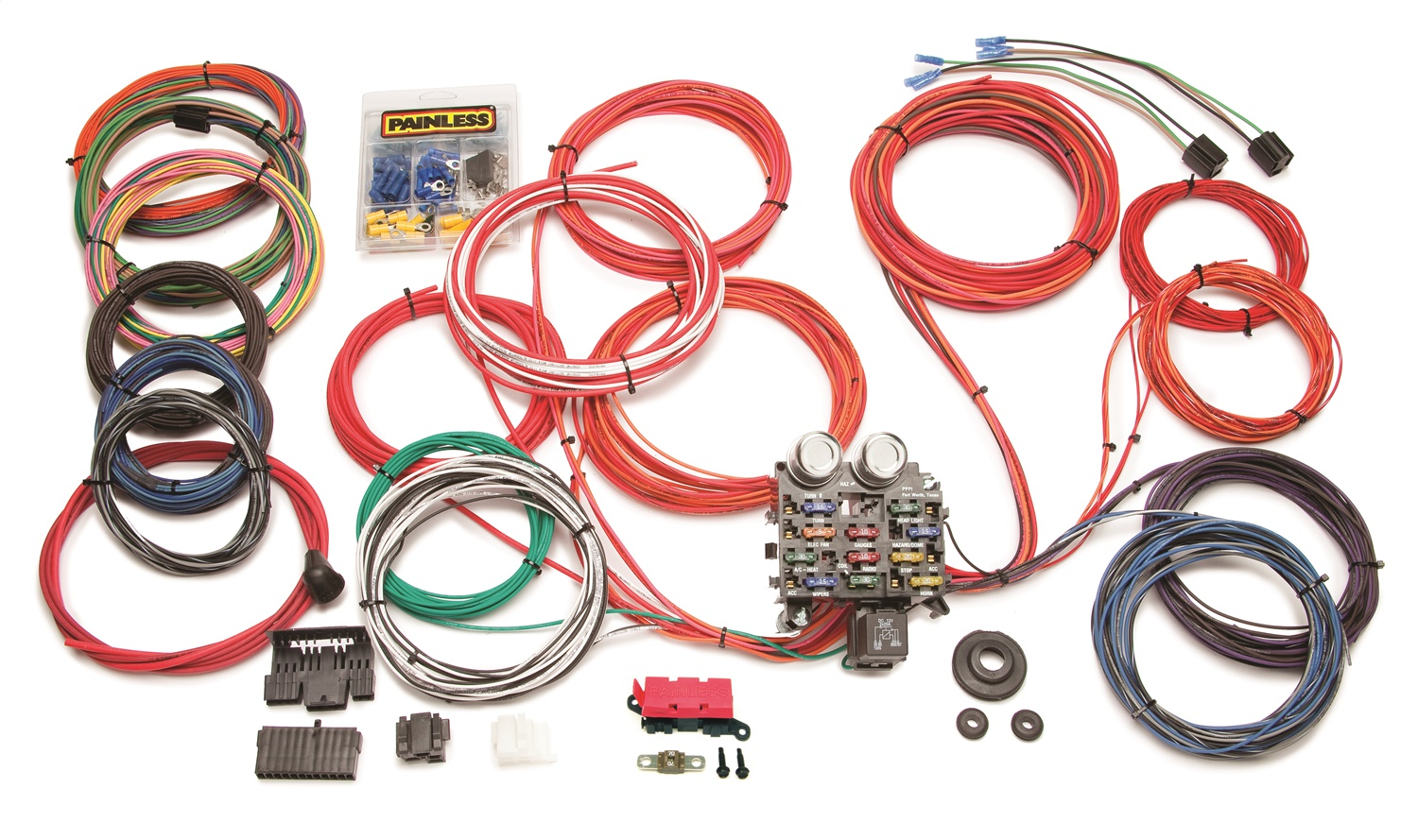 i just installed a painless wiring harness along with painless wiring 10120 chassis wire harness  painless wiring 10120 chassis wire harness
