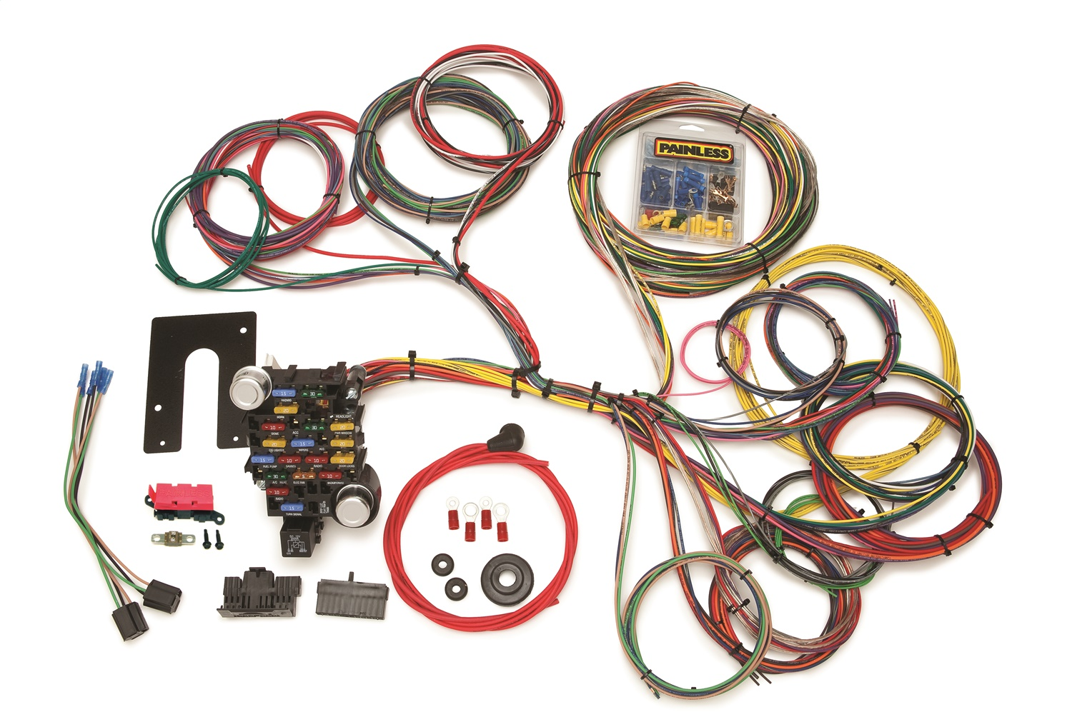 painless wiring 10204 chassis wire harness ebay