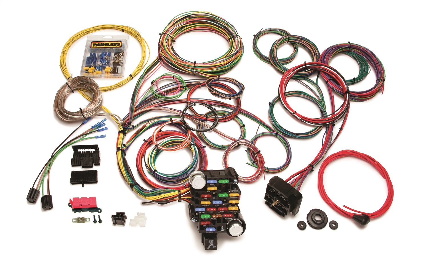 Wiring Harness For Vintage Cars : Painless wiring circuit classic plus customizable