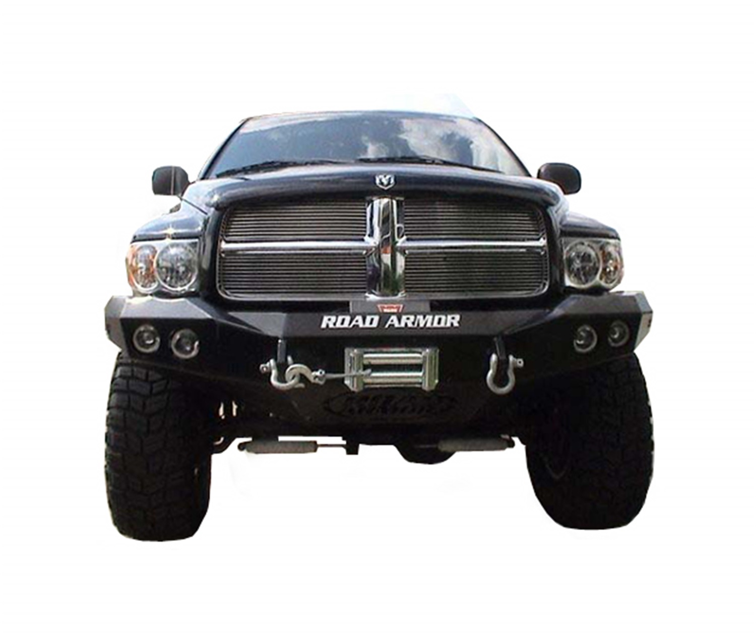 Road Armor Armor 44040B Front Stealth Bumper  w/Winch Mount  Satin Black at Sears.com