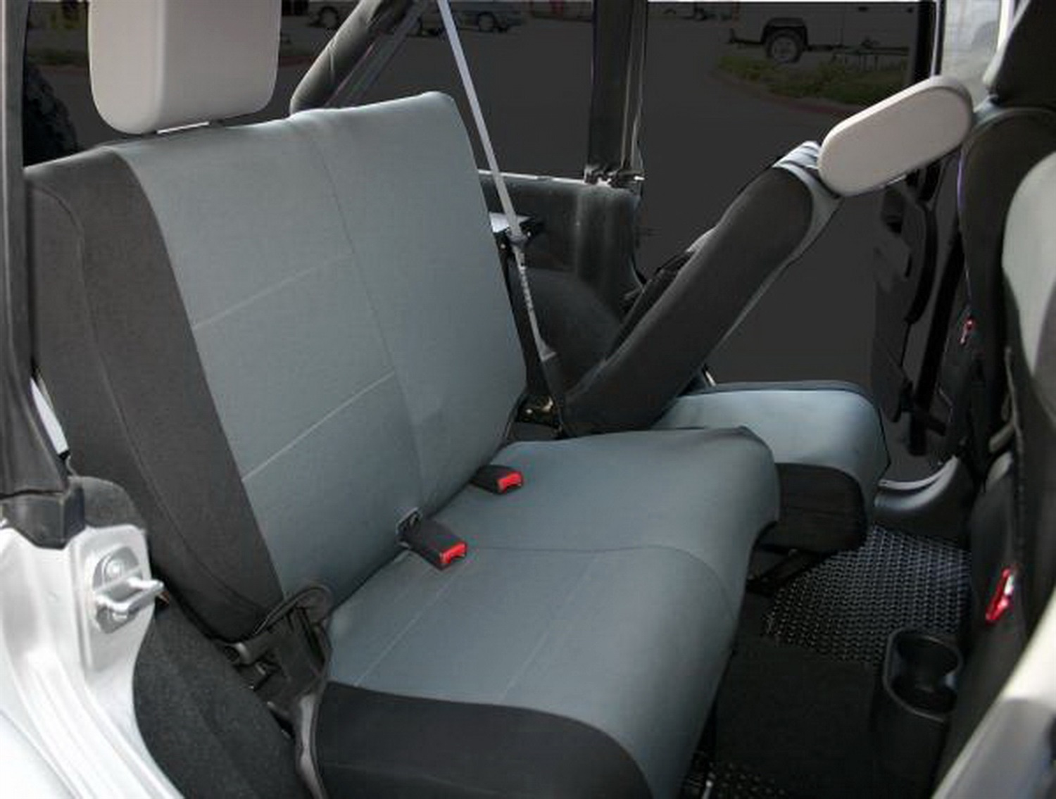 Rampage 5057821 Custom Fit Polycanvas Seat Cover