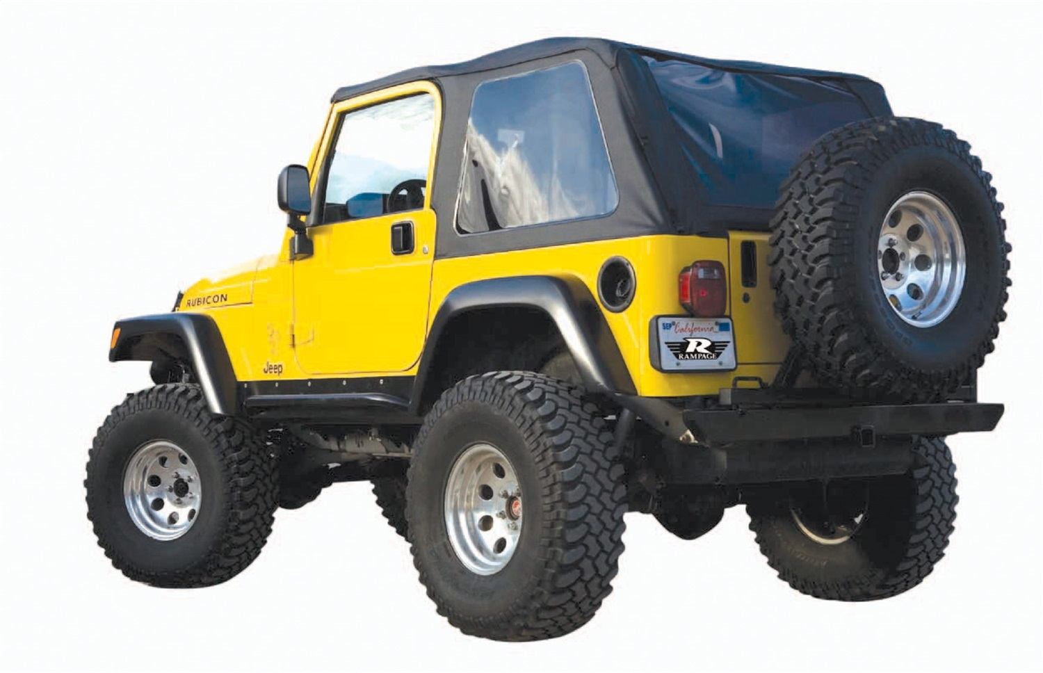 Rampage 109535 Frameless Soft Top Kit