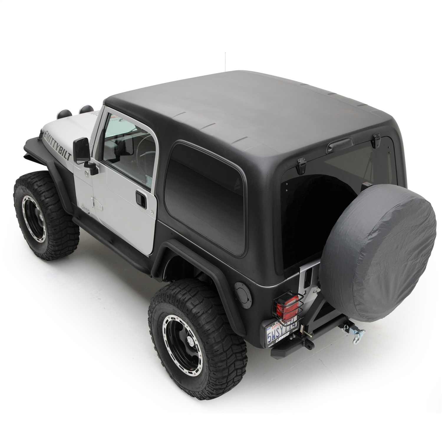 smittybilt 519701 replacement hard top fits 97 06 wrangler tj. Black Bedroom Furniture Sets. Home Design Ideas