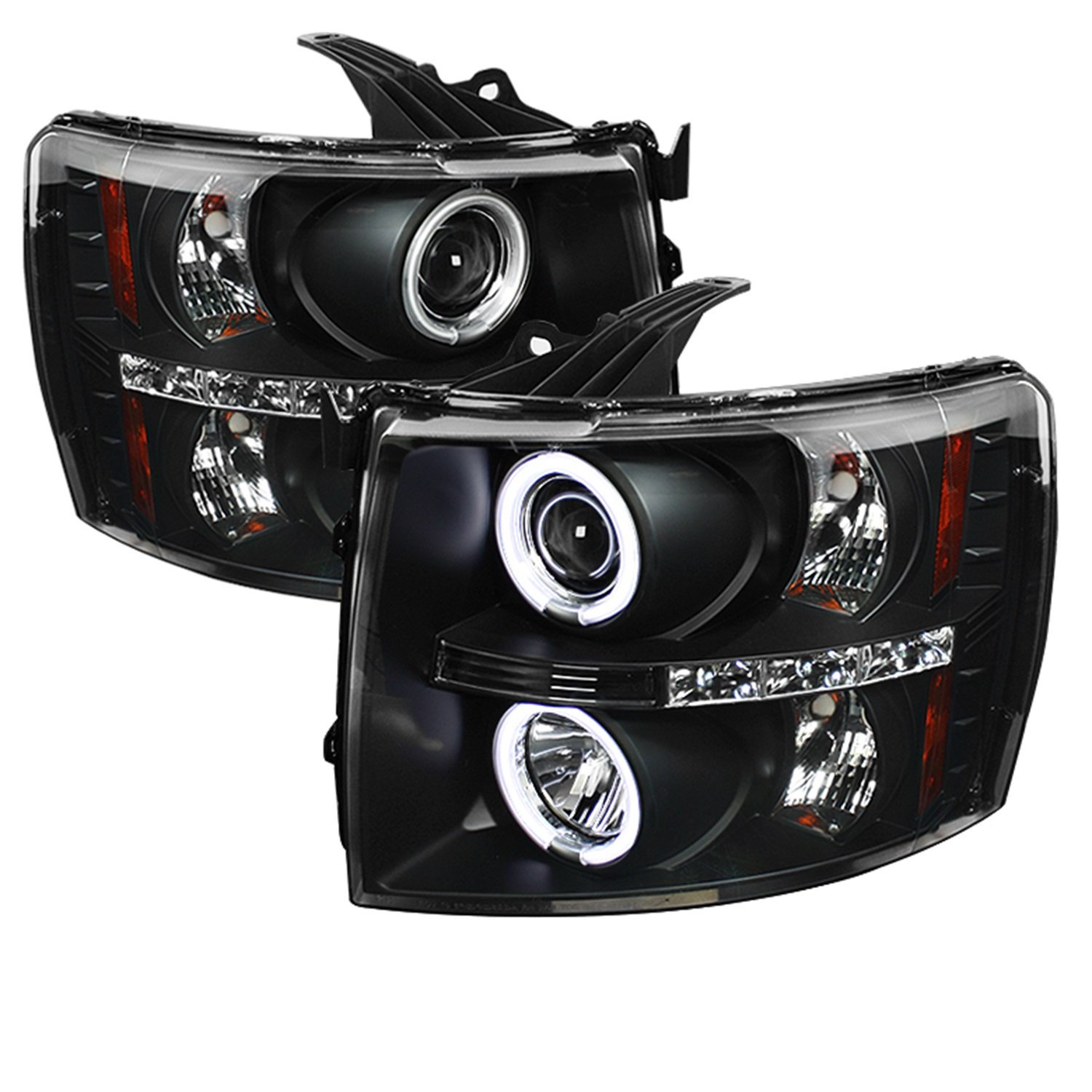 Spyder Auto 5033864 CCFL LED Projector Headlights