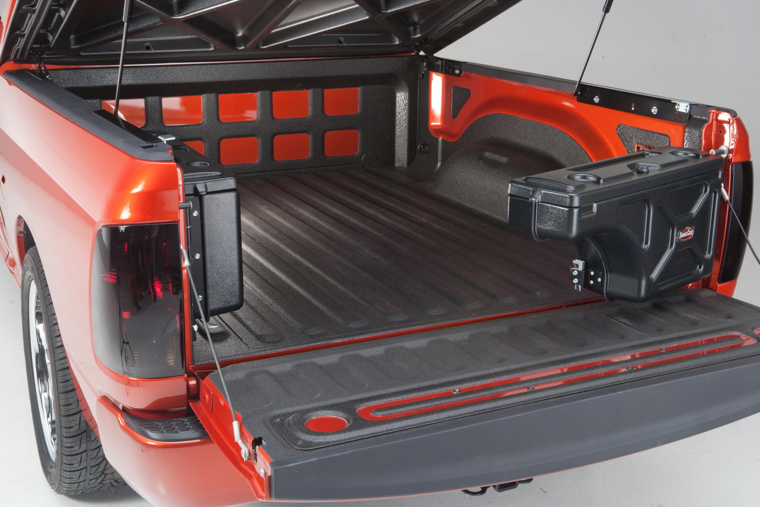 undercover tonneau undercover swing case storage box truck bed
