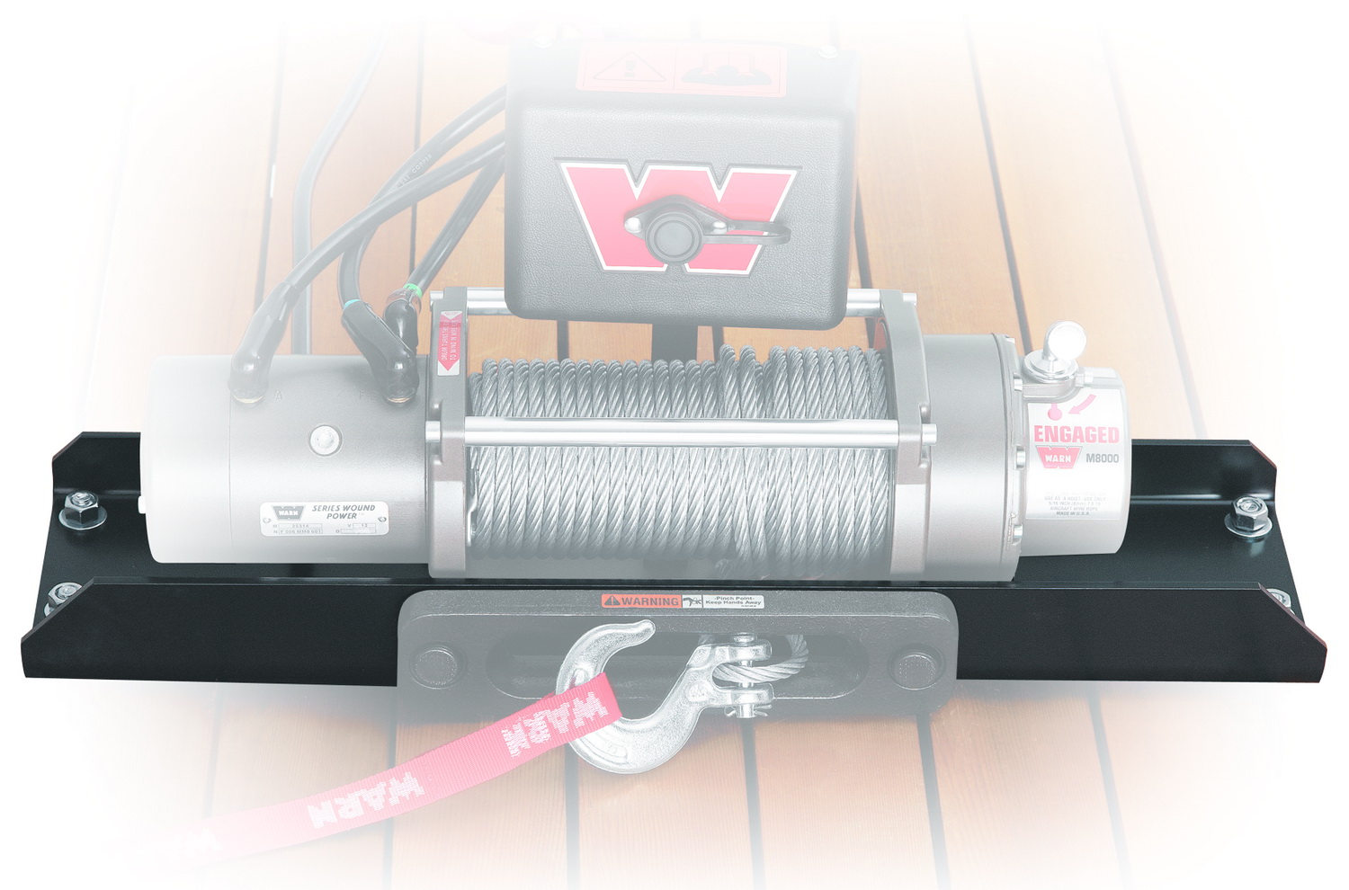 Warn 11078 Universal Foot Forward Winch Mount Kit at Sears.com