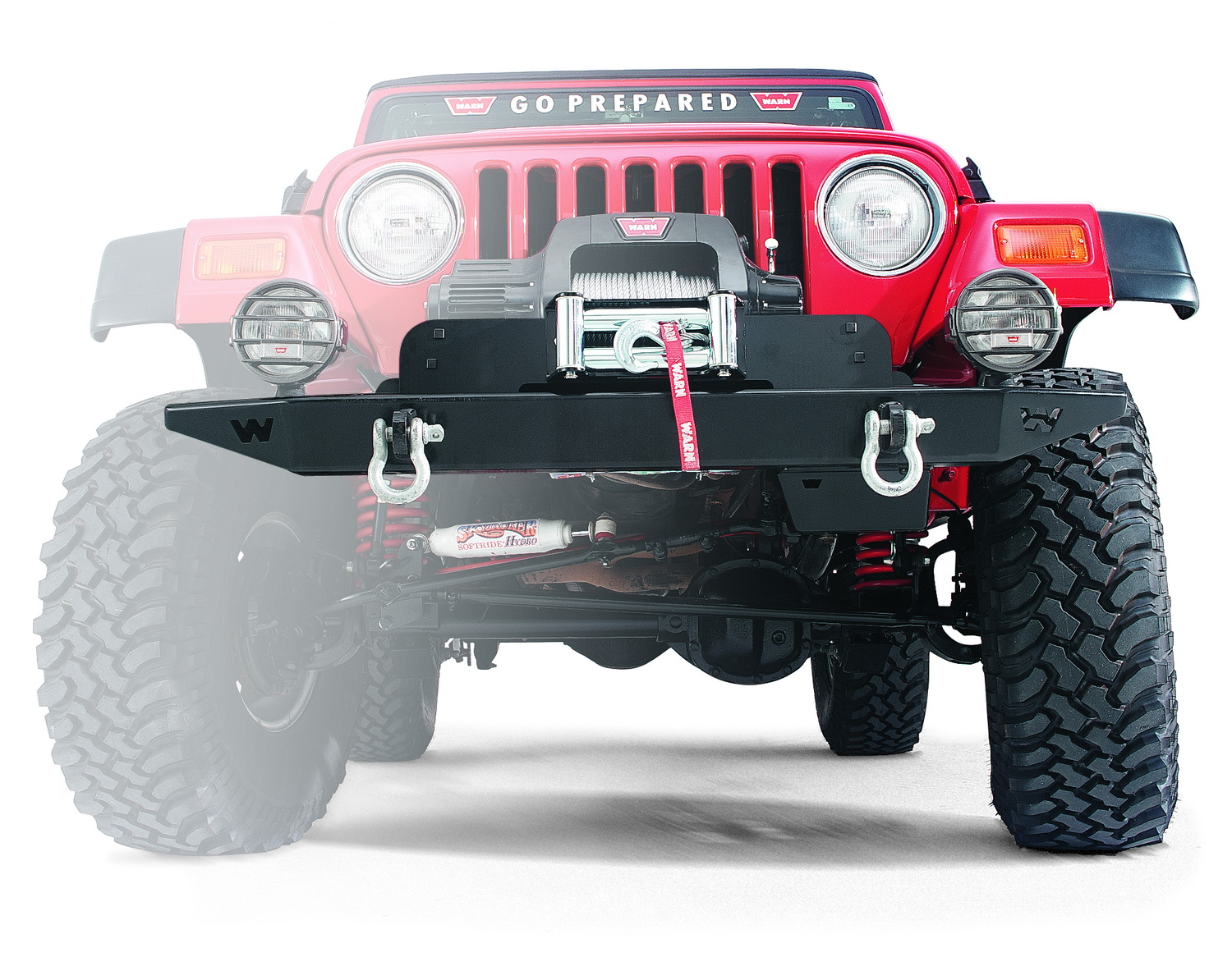 Warn 13910 Winch Mounting Plate 55-86 CJ5 CJ6 CJ7 Scrambler at Sears.com