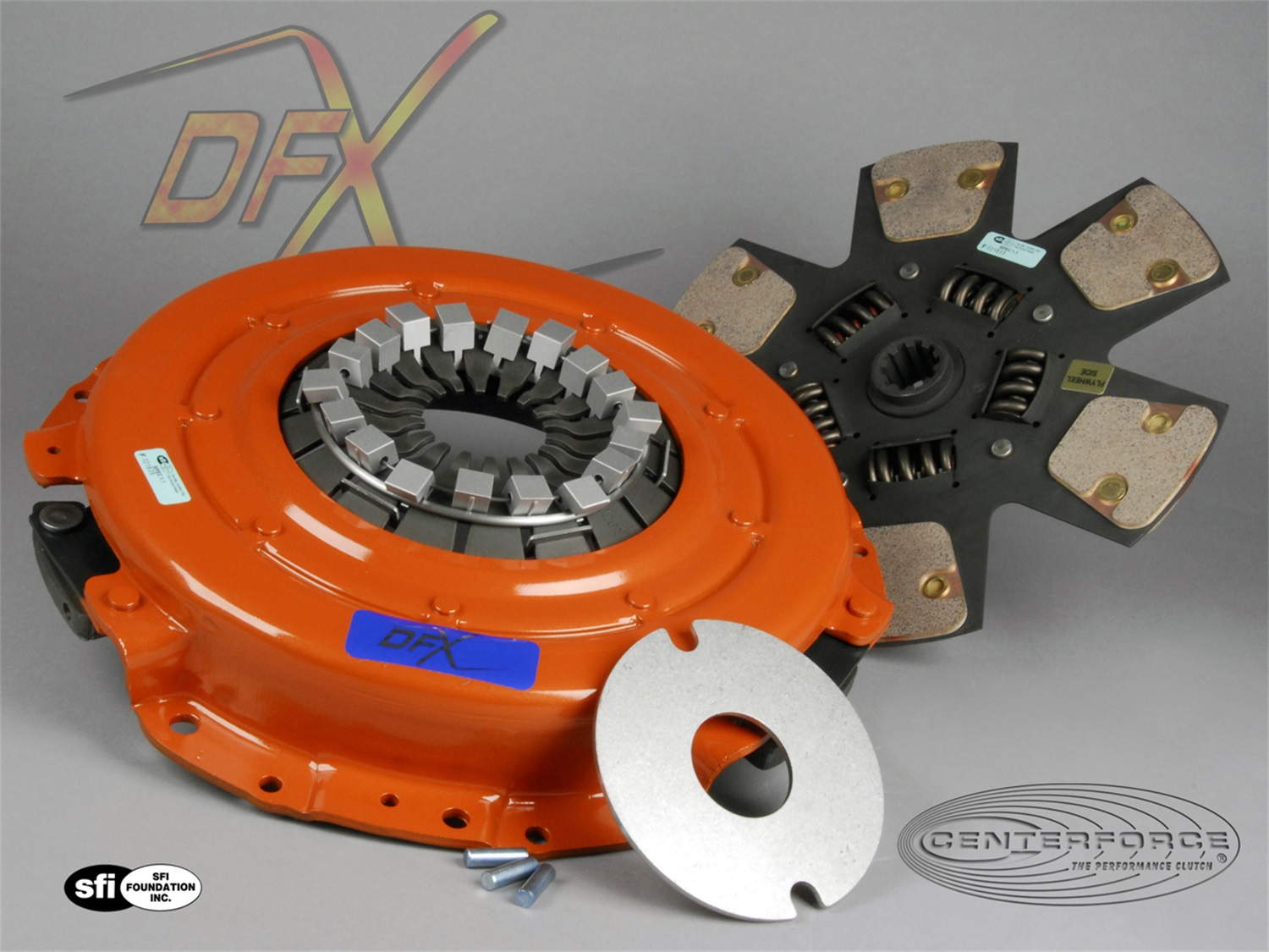 Centerforce Clutch Pressure Plate and Disc Set (01570841)