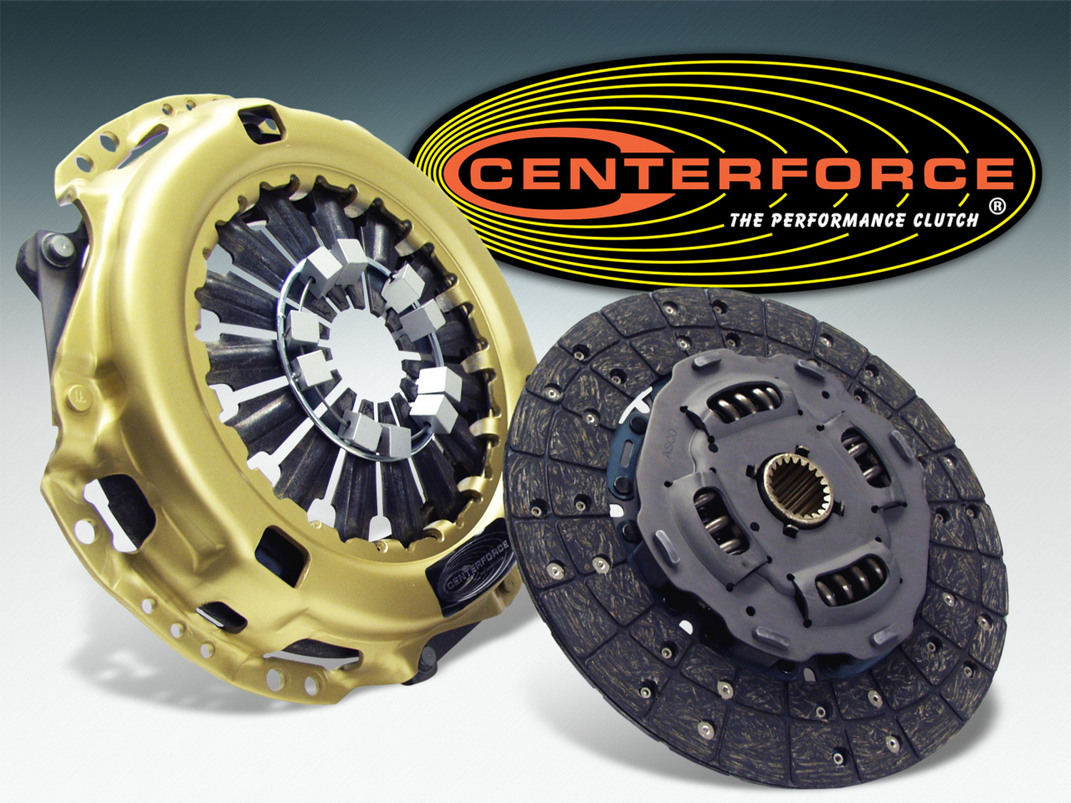 Centerforce Clutch Pressure Plate and Disc Set (CF019505)