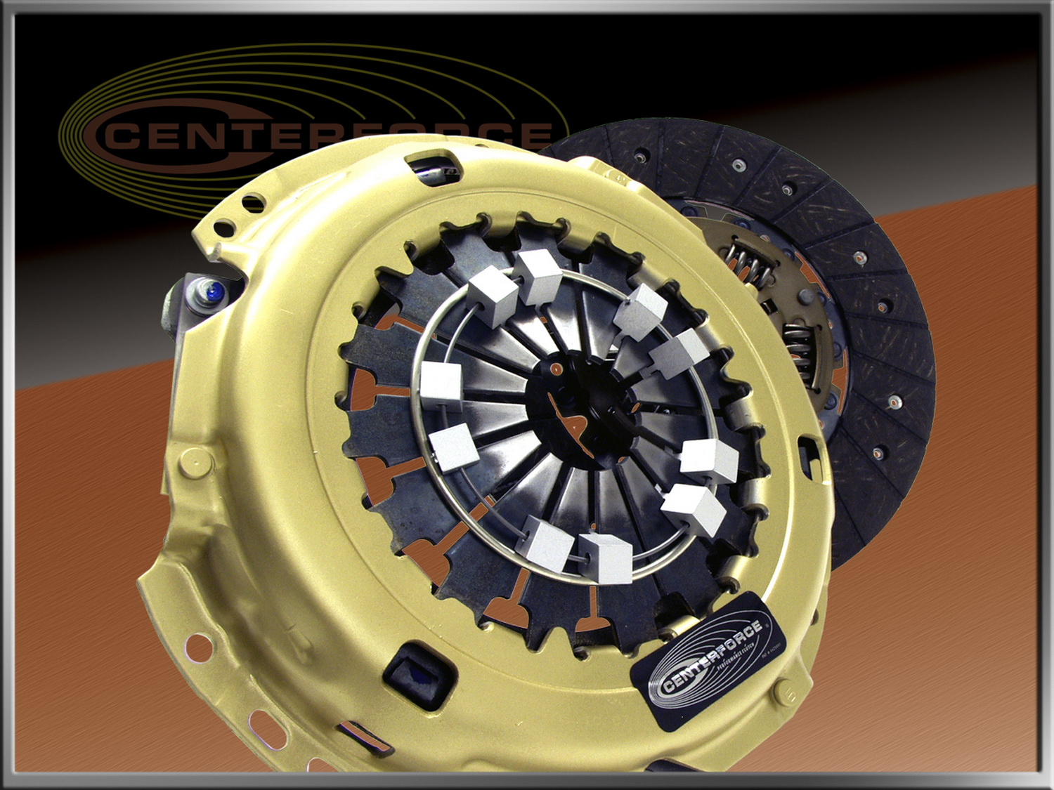 Centerforce Clutch Pressure Plate and Disc Set (CF018522)