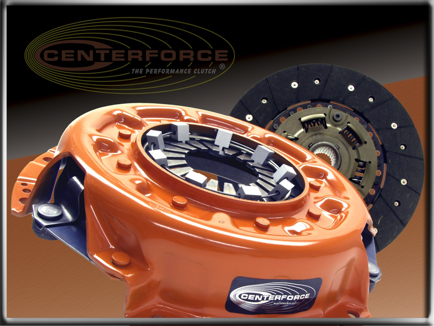 Centerforce Clutch Pressure Plate and Disc Set (CFT517010)
