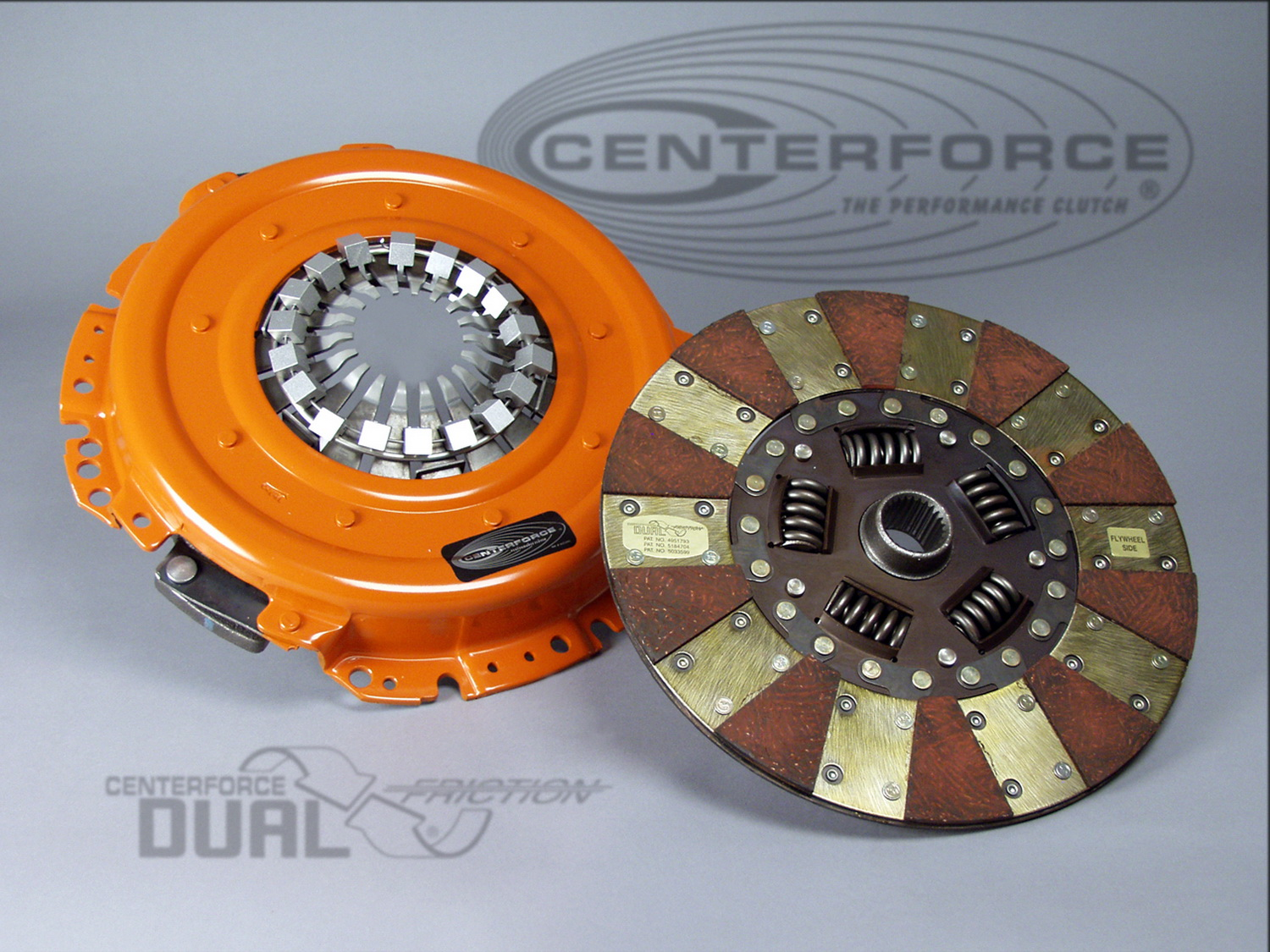 Centerforce Clutch Pressure Plate and Disc Set (DF017010)