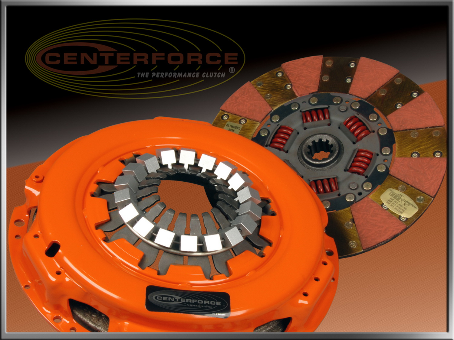 Centerforce Clutch Pressure Plate and Disc Set (DF007507)