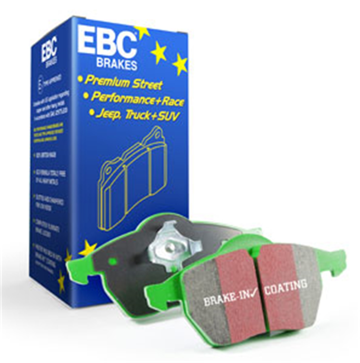 EBC Brakes Disc Brake Pad (DP21772)