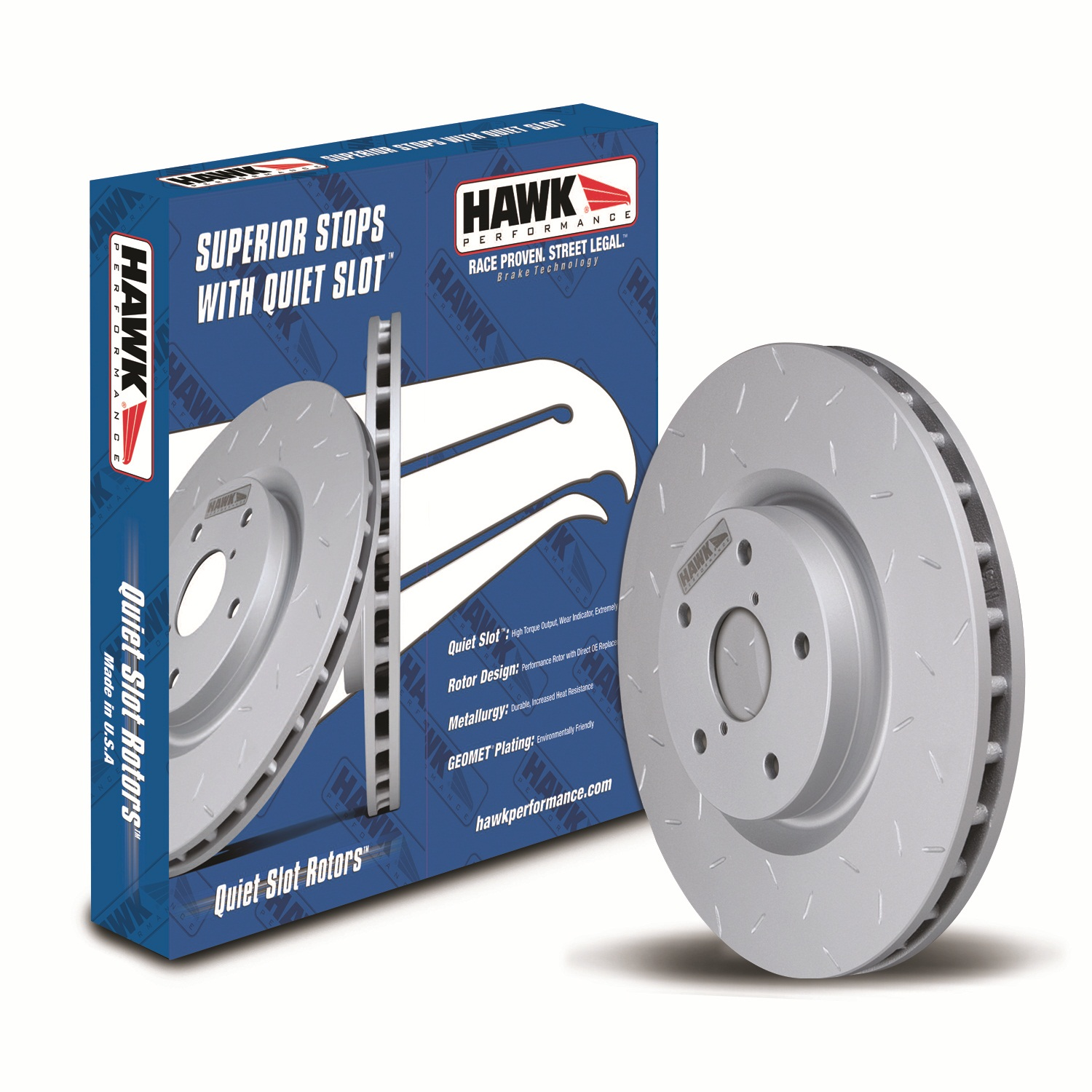Hawk Performance Disc Brake Rotor (HUS525)