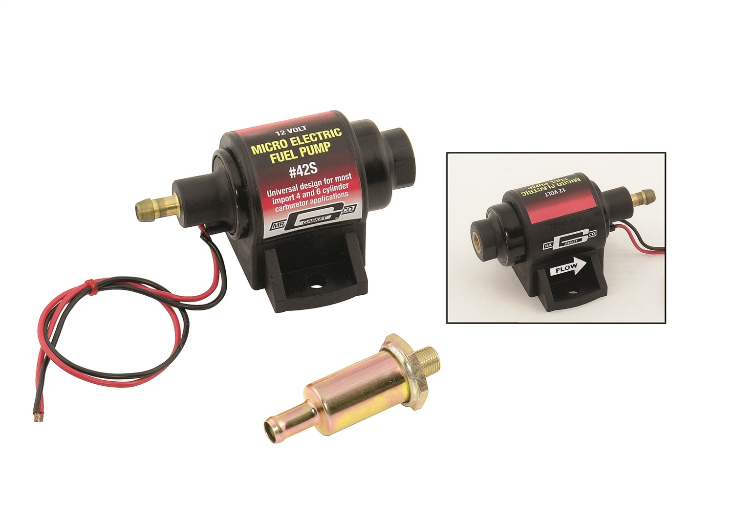 Mr. Gasket Electric Fuel Pump (42S)