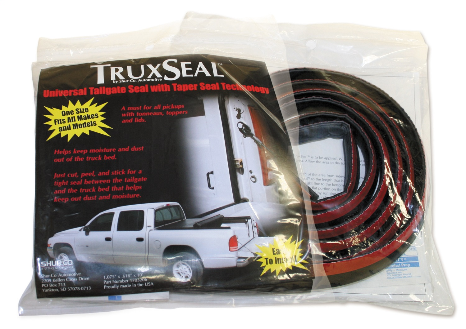 Truxedo (Shur-co) Tailgate Seal (1703206)