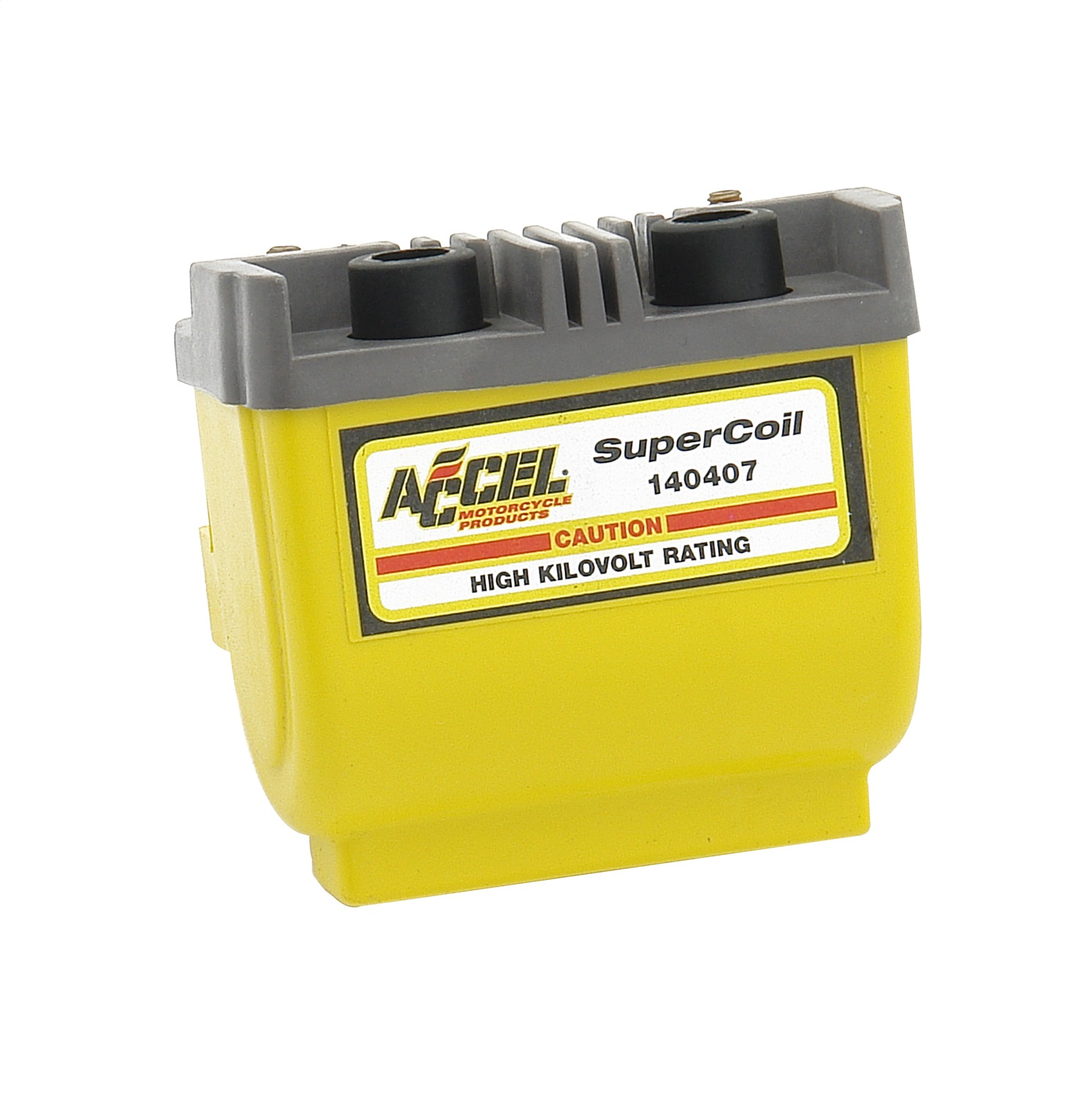 Accel 140407 Super Coil Motorcycle Ignition Coil Dual Fire