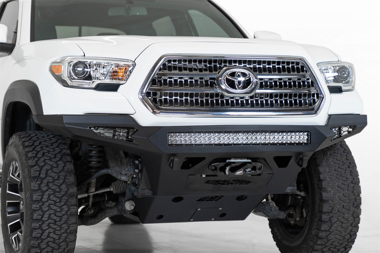 Addictive Desert Designs F681202200103 Stealth Fighter Front Bumper Fits Tacoma