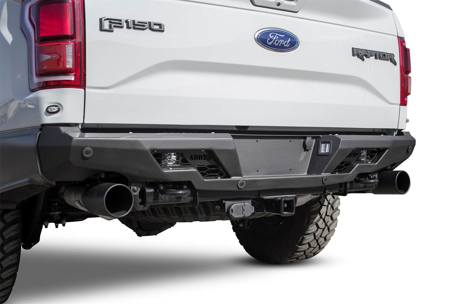 Addictive Desert Designs R111231280103 Stealth Fighter Rear Bumper Fits F-150