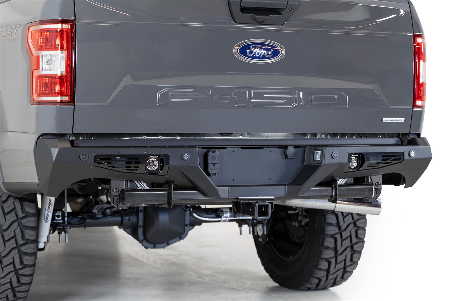 Addictive Desert Designs R180011370103 Bomber Rear Bumper Fits 15-20 F-150