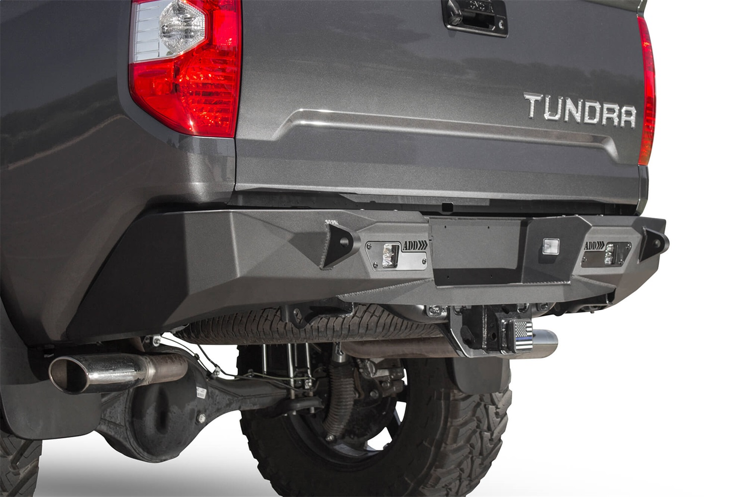 Addictive Desert Designs R741121280103 Stealth Fighter Rear Bumper Fits Tundra