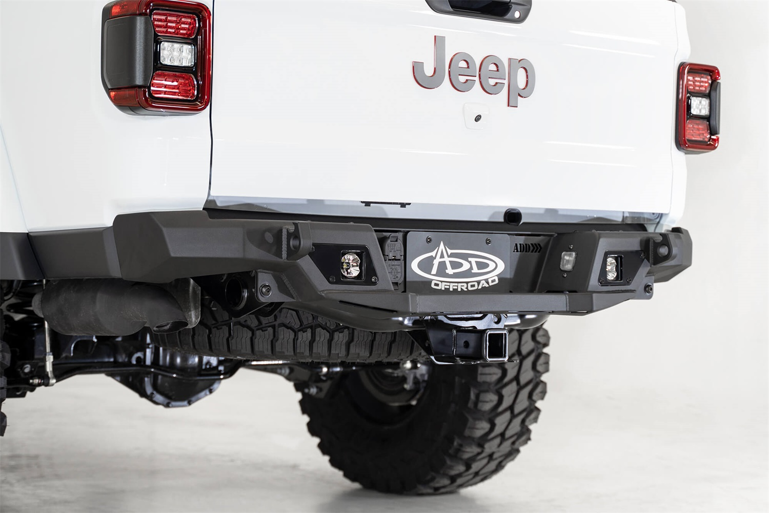 Addictive Desert Designs R971121280103 Stealth Fighter Rear Bumper