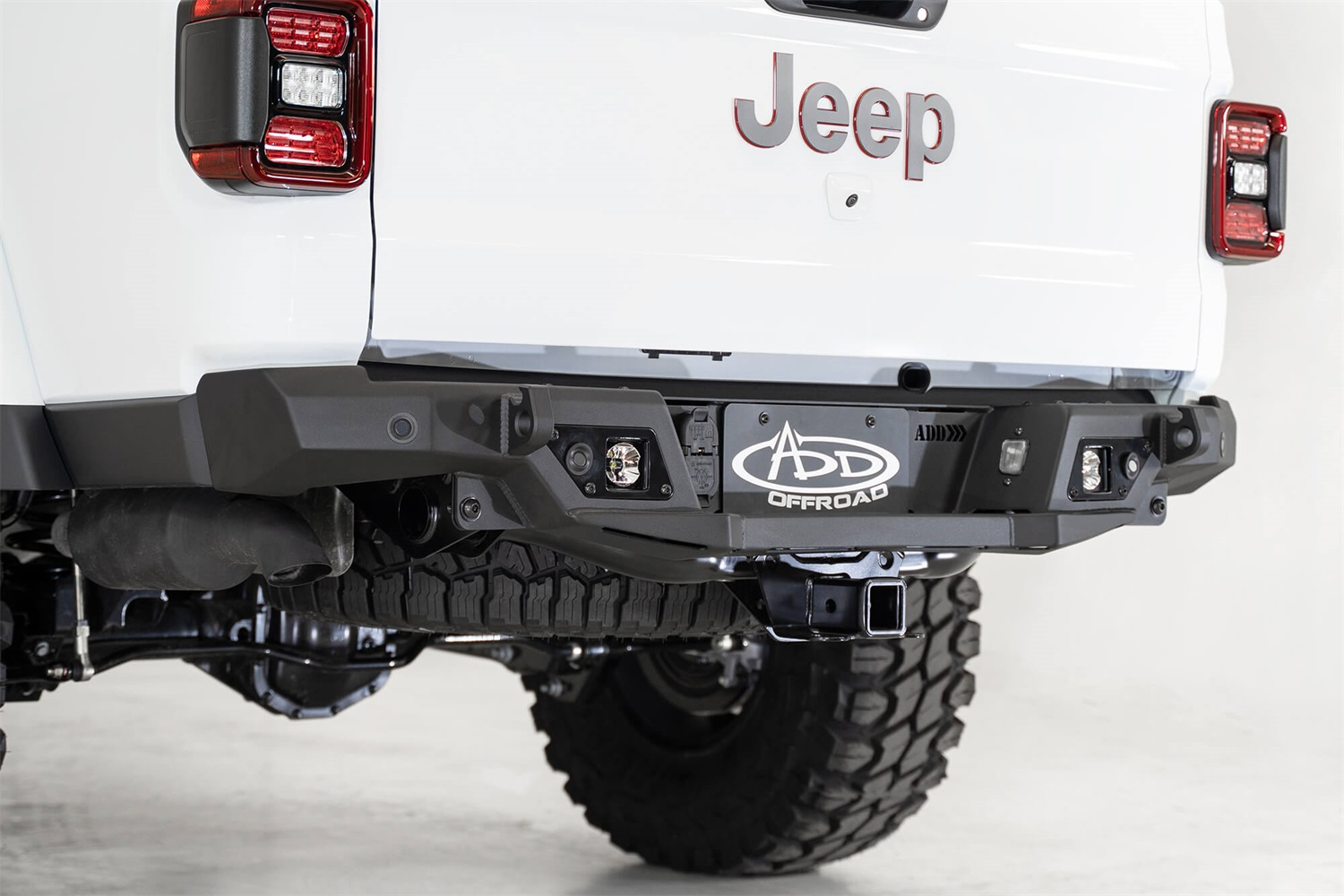 Addictive Desert Designs R971241280103 Stealth Fighter Rear Bumper