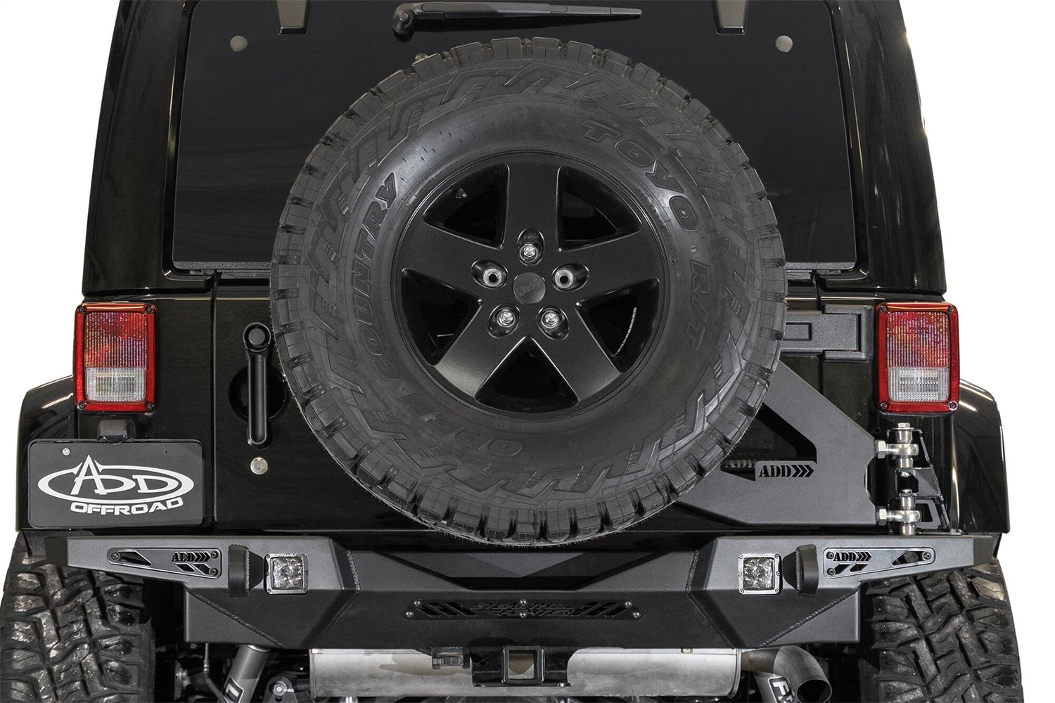 Addictive Desert Designs T95914NA01NA Stealth Fighter Tire Carrier