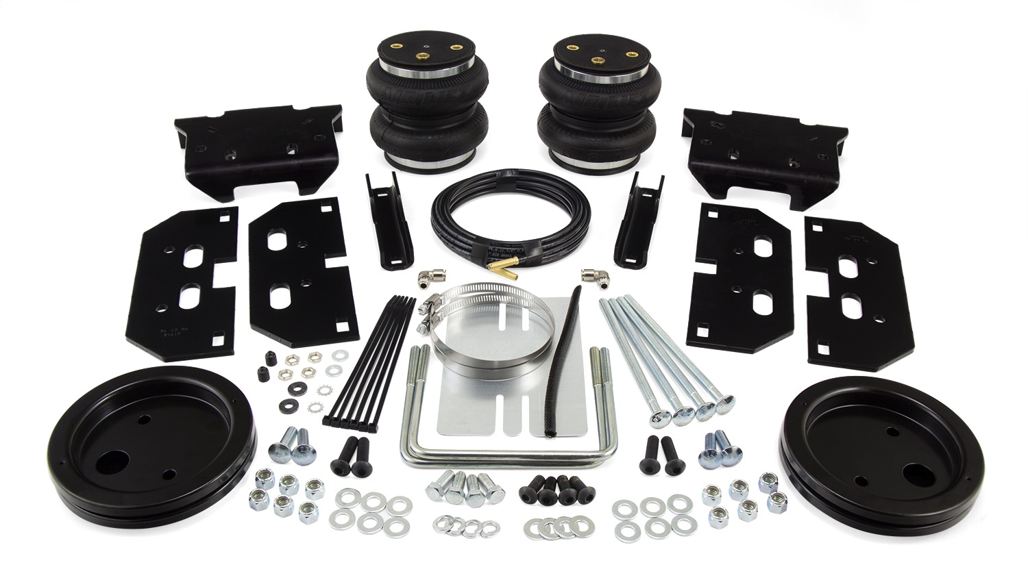 LoadLifter 5000 Ultimate Air Spring Kit, Rear, Adjustable, With Internal Jounce Bumper, 2 Hr Install, Safely Run w/Zero Air Pressure