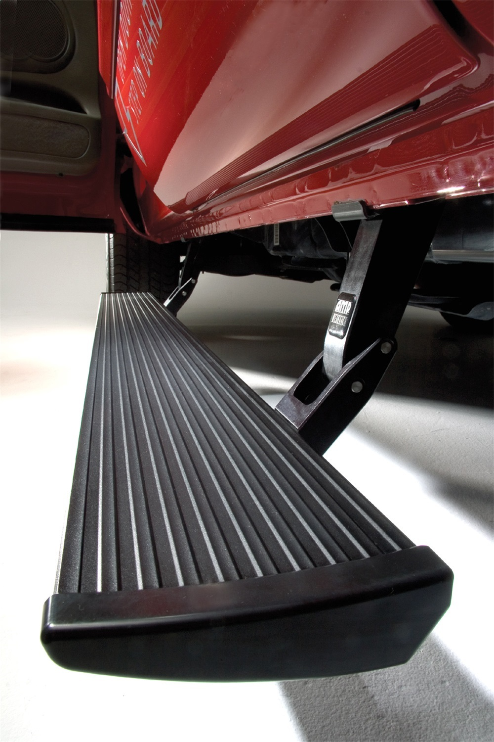 PowerStepT Running Board With Plug And Play, Incl. OEM Style Illumination, Black
